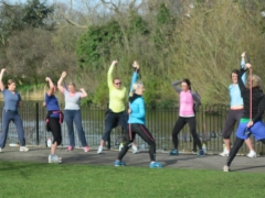 Running Belles in Clissold Park